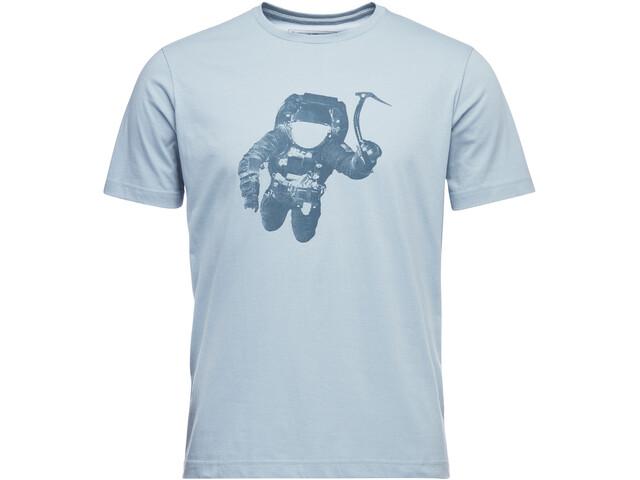 Black Diamond Spaceshot T-shirt manches courtes Homme, stone blue